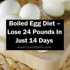 In case you wish to shed the weight quickly, the egg diet is the ideal solution...