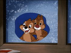 Chip and Dale Animated Gifs Gallery and Chip and Dale are a pair of chipmunks or squirrels created by Walt Disney Disney Cast, Old Disney, Disney Love, Disney Pins, Disney Magic, Mickey Mouse Y Amigos, Mickey Mouse And Friends, Walt Disney Animation, Disney Christmas