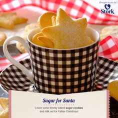 Need a recipe for scrumtious biscuits? Try this quick sugar cookies recipe today and rate Stork's recipes here. Stork – love to bake. Christmas Treats, Christmas Baking, Diy Christmas, Christmas Cookies, Holiday Fun, Sugar Cookies Recipe, Cupcake Cookies, Baking Recipes, Cookie Recipes