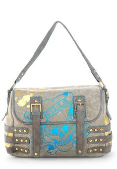 From Ed Hardy    Strapwork Judy LKS Messenger