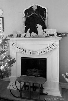 Oh Holy Night - A DIY Nativity