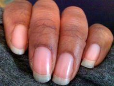 Just a few simple steps to get long strengthened nails
