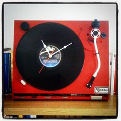 Epic clock for vinyl lovers!