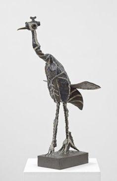 Image result for sculpture picasso crane