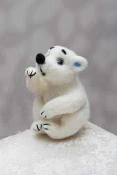"""Игрушка """"Мишка Teddy"""" - Умка -  Needle Felted Teddy Bear- Игрушки - Iren Adler - авторская ручная работа"""