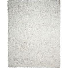 "Nourison Zen Shag White Area Rug Rug Size: 3'6"" x 5'6"""