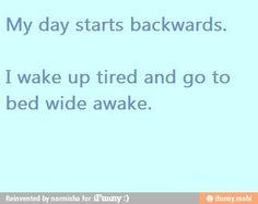Exactly why Im still up