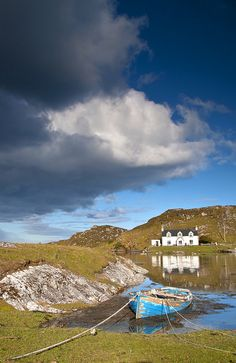 The Isle of Harris in the Gorgeous outer Hebrides