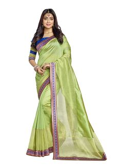 Aristocratic Banarasi Silk Embroidered Work Designer Saree