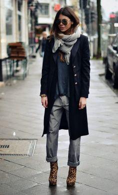 Стрийт стил вдъхновение: Maja Wyh