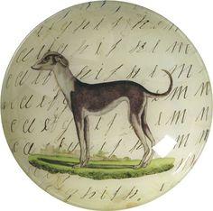 bowl with greyhound