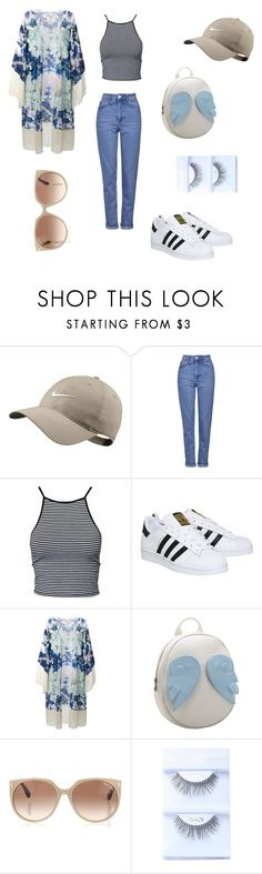 """""""babies n stuff"""" by her-aesthetic on Polyvore featuring NIKE, Topshop, Estradeur, adidas, Athena Procopiou, Chicnova Fashion and Tom Ford"""