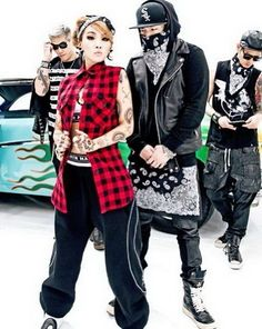 Going Sassy with Korean Style from CL's The Baddest Female
