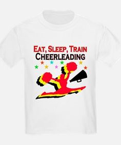 CHEERLEADER T-Shirt Calling all Cheerleaders! Show your love for Cheerleading with our exclusive Cheerleader Tees and Gifts.  Use code PADDY20 to save an additional 20% off orders http://www.cafepress.com/sportsstar/10189555  #Cheerleading #Cheerleader #Cheerleadergift #Lovecheerleading #PersonalizedCheerleader
