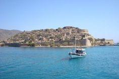 Crete, Greece: The Island of Spinalonga.