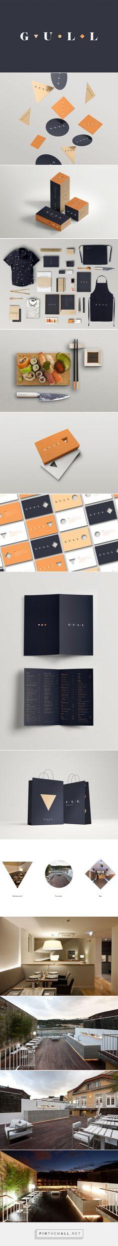Gull Restaurant Branding by Volta Fivestar Branding – Design and Branding Agency & Inspiration Gallery Web Design Agency, Brand Identity Design, Graphic Design Branding, Menu Design, Corporate Design, Branding Agency, Business Branding, Identity Branding, Corporate Identity