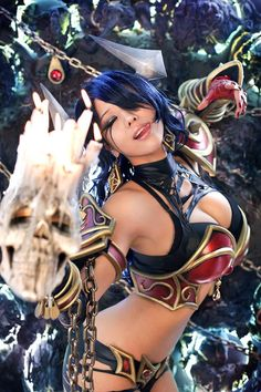 Akasha(The Queen of Pain) DOTA2 Cosplay by SpcatsTasha.deviantart.com on @deviantART
