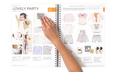 Sp/S 2014 Trend Book. New Casual wear shapes for girls: even more charming with more interesting product constructions and shapes.