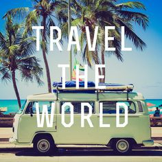 Top 25 Inspirational Travel Quotes That You'll Love: discover inspiring and inspirational quotes and motivational mantras by famous people on wanderlust, travel destinations, geography and amazing places around the world. Adventure Awaits, Adventure Travel, Image Swag, Le Cap, Reisen In Europa, Before I Die, Tours, I Want To Travel, Fun Travel