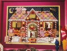 Barbara Sestok's Gingerbread House