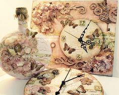 Collection of samples made using my Time flies Stamps with Imagination Crafts 2015