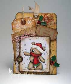 I Wanna Build a Memory: Christmas Tag Tutorial for The Kraft Outlet