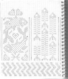 Варежки Варежки #18 Knitted Mittens Pattern, Fair Isle Knitting Patterns, Knit Mittens, Knitting Charts, Knitting Socks, Knitting Needles, Crochet Patterns, Motif Fair Isle, Norwegian Knitting