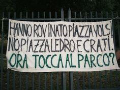 NO al parcheggio al posto degli alberi di Parco Virgiliano!