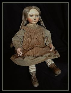 Rebecca Kerin Folk Art Dolls ~ Livy