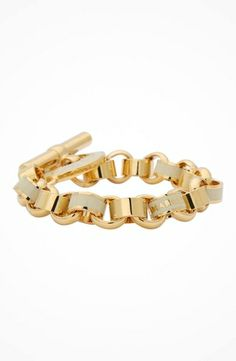 Marc by Marc Jacobs Toggles & Turnlocks Enamel Toggle Bracelet #accessories  #jewelry  #bracelets  https://www.heeyy.com/marc-by-marc-jacobs-toggles-turnlocks-enamel-toggle-bracelet-cream/