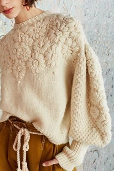 Ulla Johnson ciel pullover - Blue One Knitwear Fashion, Knit Fashion, Womens Fashion, Lolita Fashion, Fashion 2020, Fashion Fashion, Autumn Fashion, Fashion Outfits, Mode Crochet