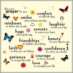 My prayers for you <3