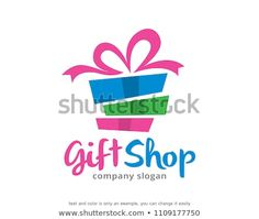 Find Gift Shop Logo Symbol Template Design Vector, Emblem, Design Concept, Creative Symbol, Icon Stock Vectors and millions of other royalty-free stock photos, illustrations, and vectors in the Shutterstock collection. Thousands of new, high-quality images added every day. Company Slogans, Shop Plans, Shop Interior Design, Display Design, Shop Logo, Signs, Craft Gifts, Logo Design, Icon Design