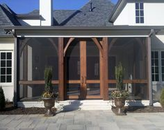 41 Best Diy Screen Porch Images Sunroom Front Porch Front Stoop