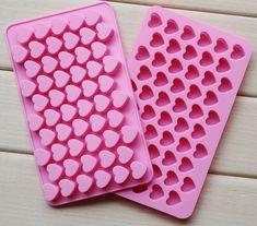 Cheap Molde de silicona 55 molde para hacer azúcar morena molde del caramelo de chocolate y moldes de hielo con forma de corazón, Compro Calidad Moldes de Pastelería directamente de los surtidores de China: TAMAÑO: 18,5 * 11 * el 1.4CM el tamaño del corazón : 1.5 * 1.4cm PAGO Ac