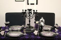 Gothic Glam Halloween Party