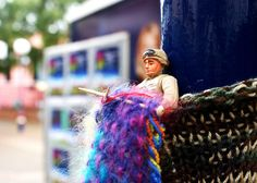 gi joe knits    Isn't this the best? GI Joe on a pole knit done by the ladies in the Geurilla group