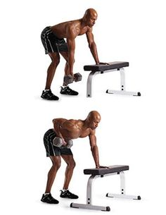 3. Standing Supported Single-Arm Underhand-Grip Row