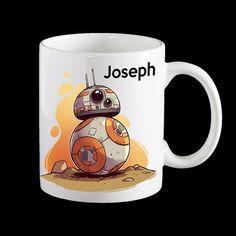 Personalised BB-8 Star Wars Coffee Mug