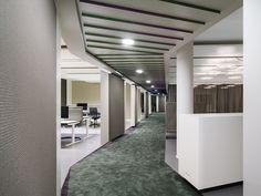 Ippolito Fleitz Group has developed the new offices of Phoenix Design located in Stuttgart, Germany. Phoenix Design in Stuttgart is one of the world's Visual Merchandising, Stuttgart Germany, Munich, Sofa Manufacturers, Phoenix Design, Corporate Interiors, Open Office, Workplace Design, Office Workspace