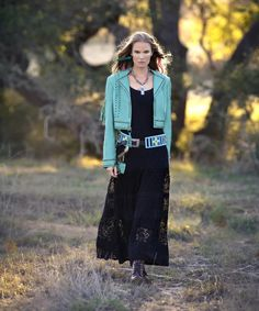 Double D Ranchwear Catherine Lace Maxi Dress - $299.50