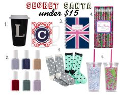 The Perfect Gifts For A Secret Santa Gift Exchange Under 15 Dollars