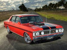 Ford XY Falcon GT Phase 3 GTHO. Considered as the World's Fastest Production Car at the Time (1969)