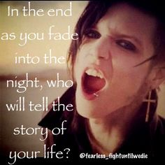 In the End- Black Veil Brides. probably my favorite song by them