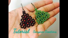 Umbel Flower Earrings  (Tutorial)