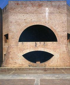Louis Kahn's Indian Institute of Management, Ahmedabad, India