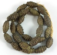 African Brass Beads are made of various metals by hand.