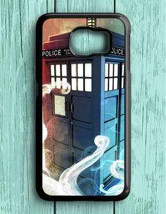 Police Box Tardis Doctor Who Samsung Galaxy S6 Case