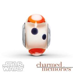 Charmed Memories Star Wars BB-8 Charm Sterling Silver