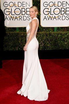 Kate Hudson en Donatella Versace | Golden Globes 2015
